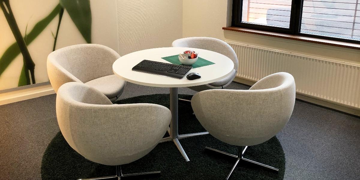 Kan du lide dette møderum i Jyske Bank?