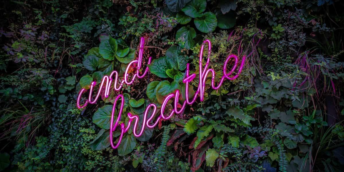 Tænk hvis vi kunne falde ned på et andet åndedrætsniveau